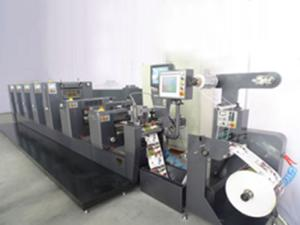 Intermittent PS Label Offset Printing Machine, ZX-320