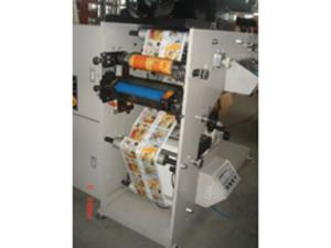 Flexo Printing Machine with Single Rotary Die Cutting Station, ZBS-320