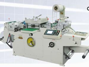 Flat Bed Label Die Cutting Machine (WQM-320G/ WQM-420)