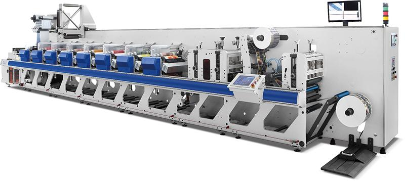 Flexo printing machine ZJR-330/450/650